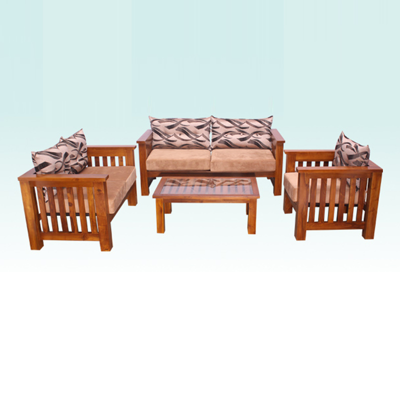 LIVING ROOM SET | LOVISTA | TEAK | Arpico Furniture