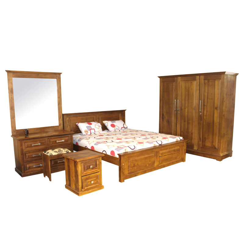 Bedroom set ronvex teak arpico furniture for Bedroom designs sri lanka