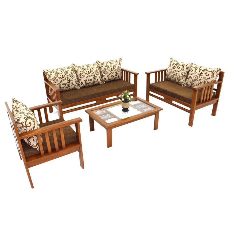 Living Room Set Sandria Mahogany Arpico Furniture