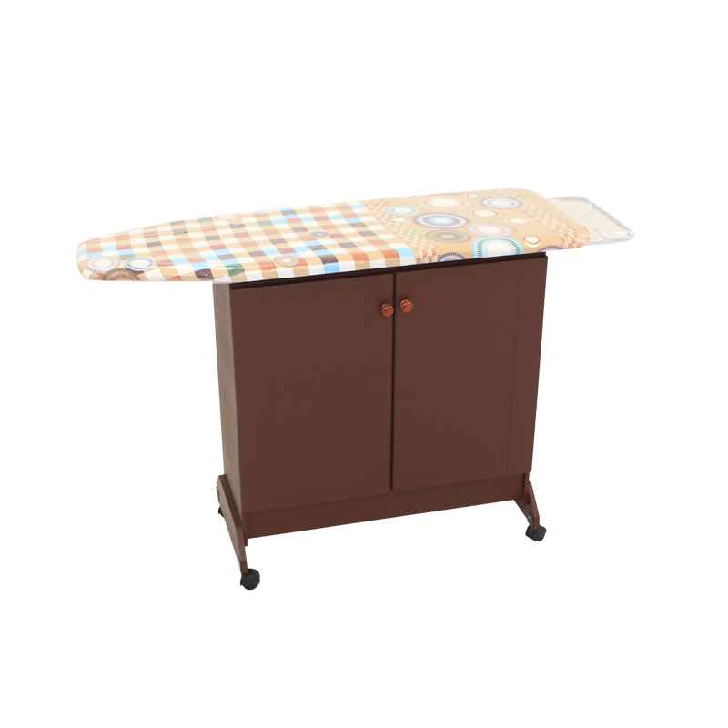 Exceptional IRONING TABLE WITH CABINET