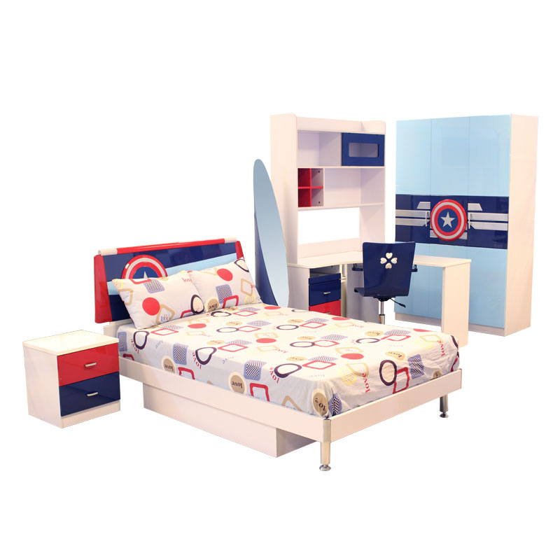 BEDROOM SET | KIDDIES U2013 CAPTAIN AMERICA
