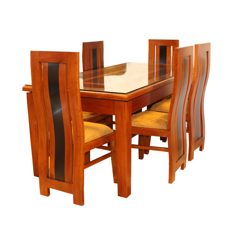 Dining Set Globle Mahogany 08 Seater Arpico Furniture
