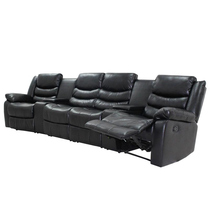 Sofa Nixon Home Theater Air Leather Arpico Furniture